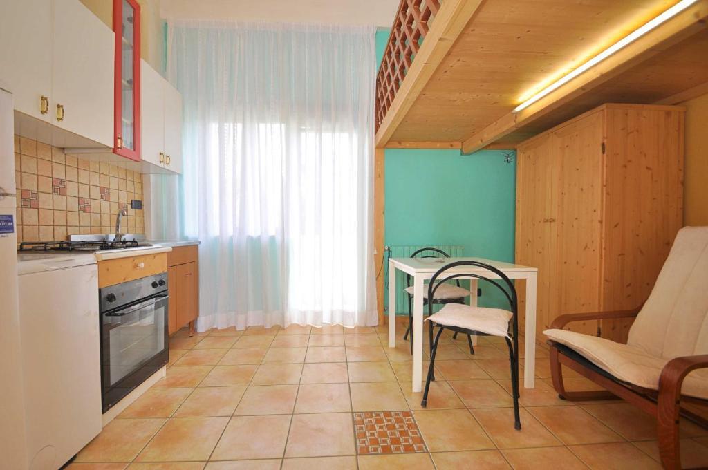 A kitchen or kitchenette at Casa dei Greci