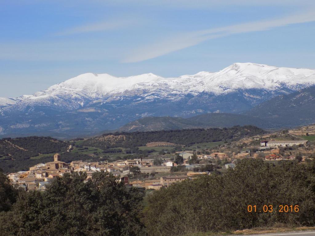 A bird's-eye view of Casa Jesús