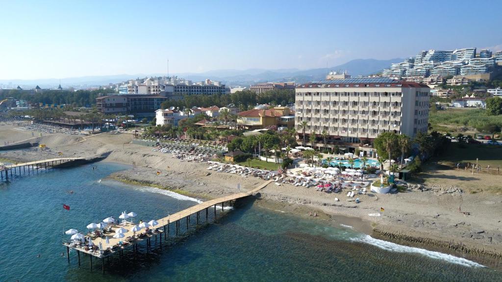 A bird's-eye view of Anitas Hotel