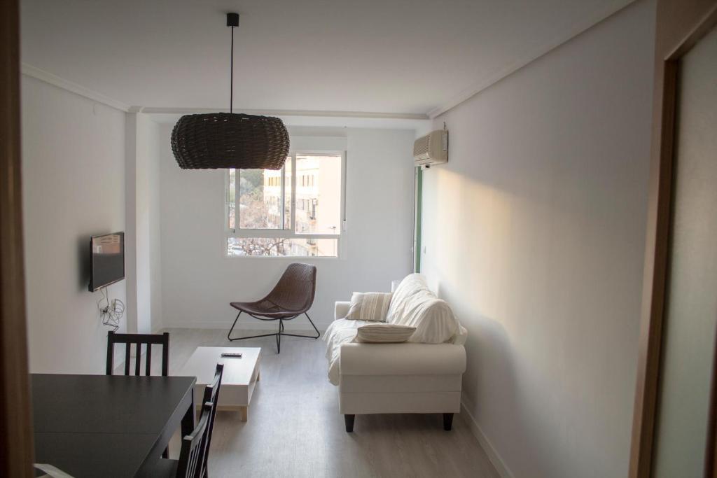 Zona de estar de Mestre Valls Apartment