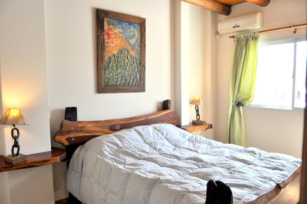 A bed or beds in a room at Complejo Abaurrea