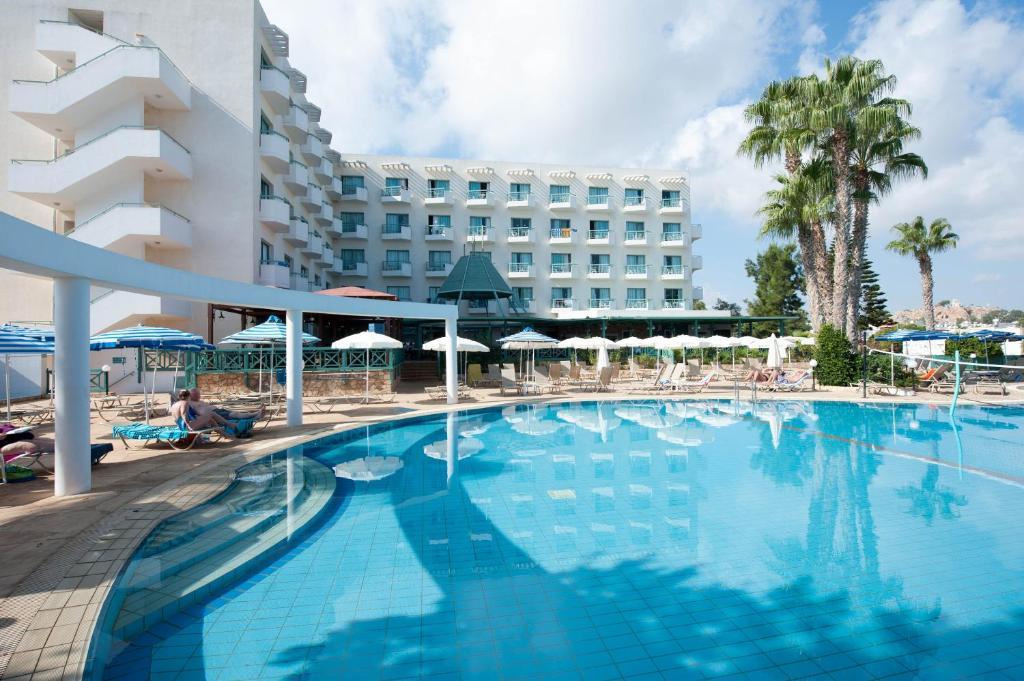 The swimming pool at or near Antigoni Hotel