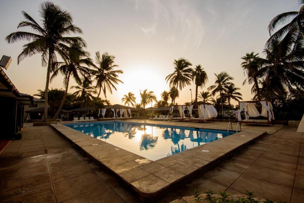 Het zwembad bij of vlak bij Oasis Belorizonte