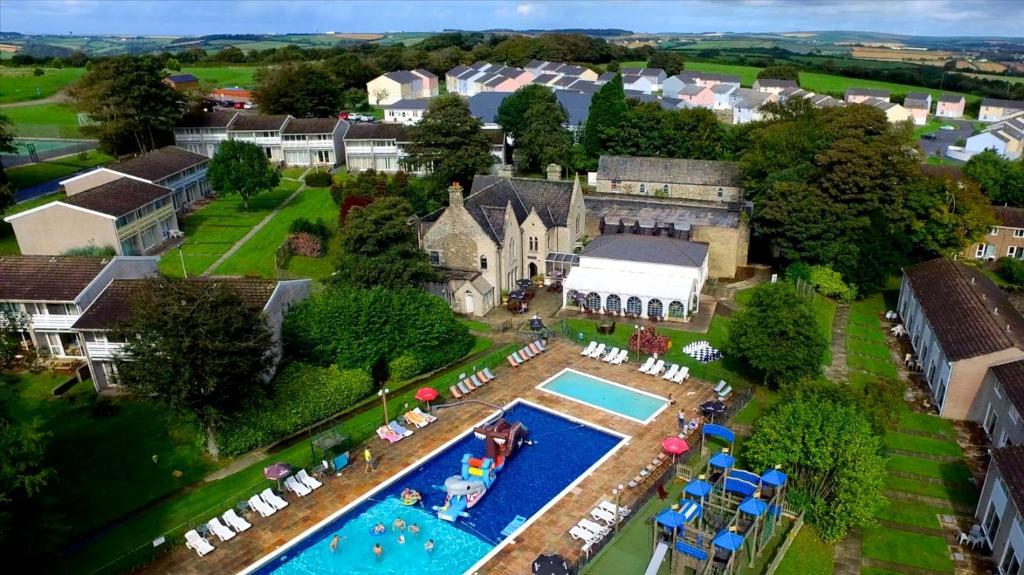 A bird's-eye view of Atlantic Reach Resort