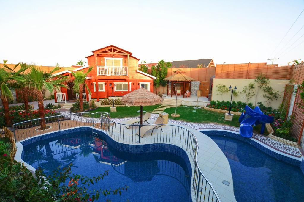 The swimming pool at or near Welf Resort