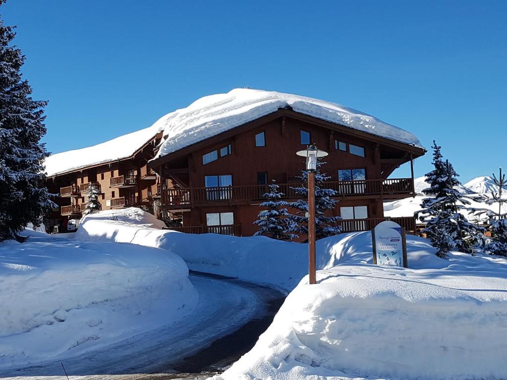 Premium Les Alpages de Chantel during the winter