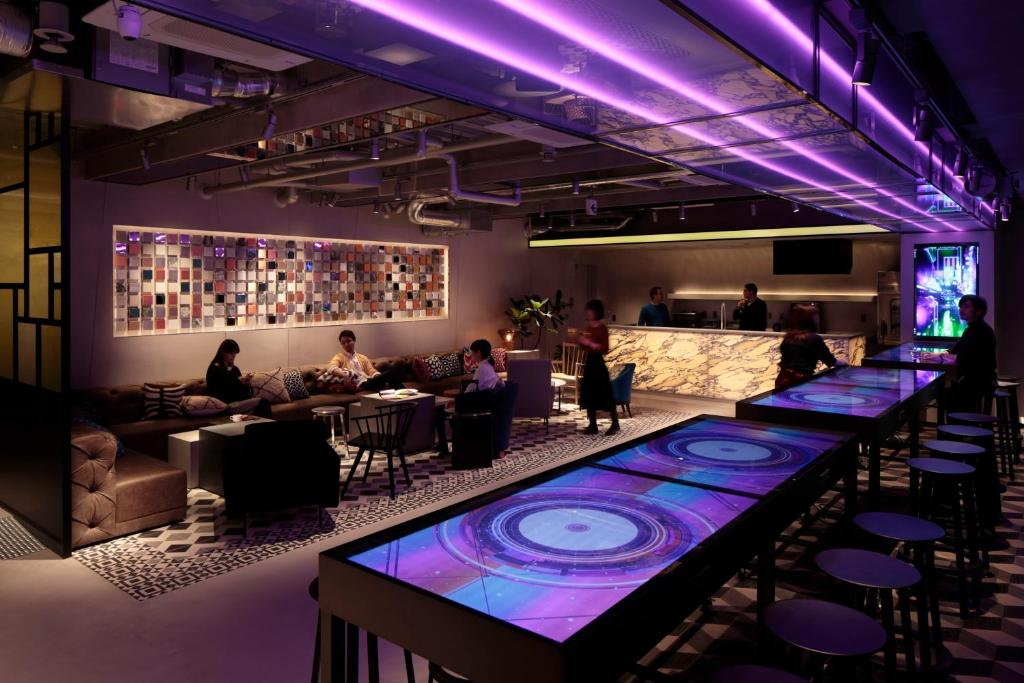 A restaurant or other place to eat at The Millennials Shibuya