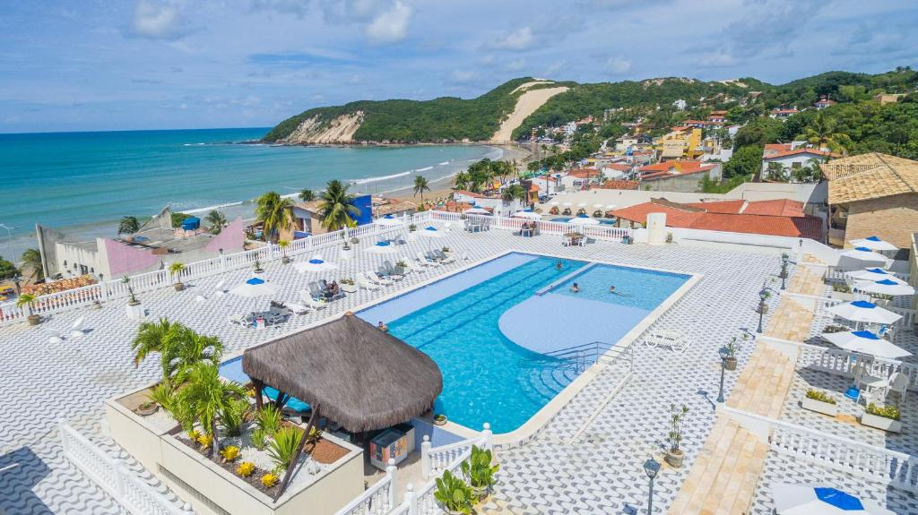 A view of the pool at Kristie Resort Natal Hotel or nearby