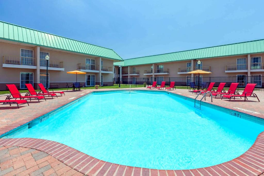 The swimming pool at or near Extend-a-Suites - Amarillo West