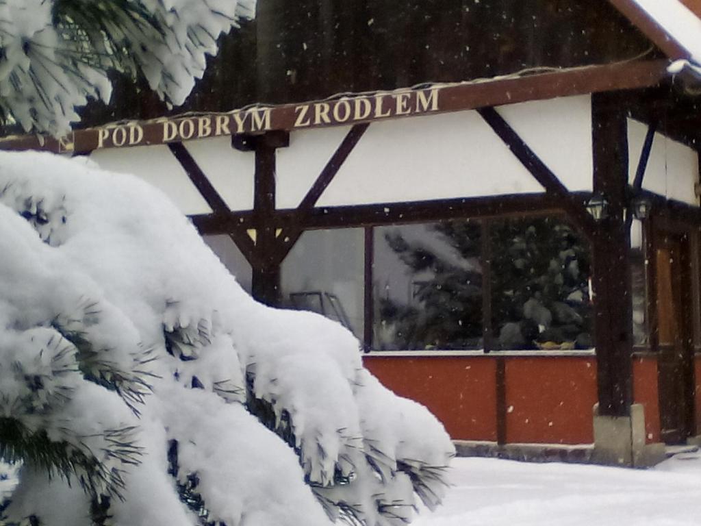Obiekt Pod Dobrym Źródłem zimą