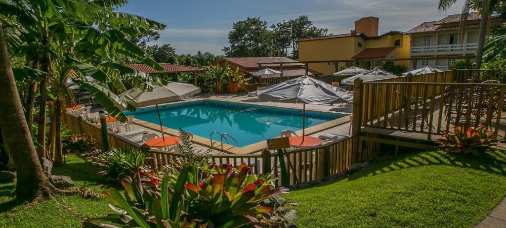 The swimming pool at or near Hotel São Sebastião da Praia