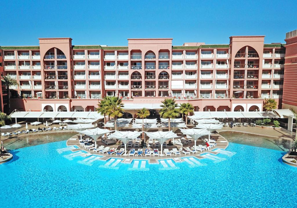 The swimming pool at or near Savoy Le Grand Hotel Marrakech