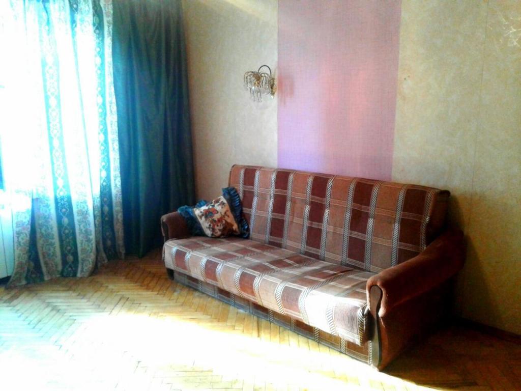 Гостиная зона в Апартаменты улица Новинки