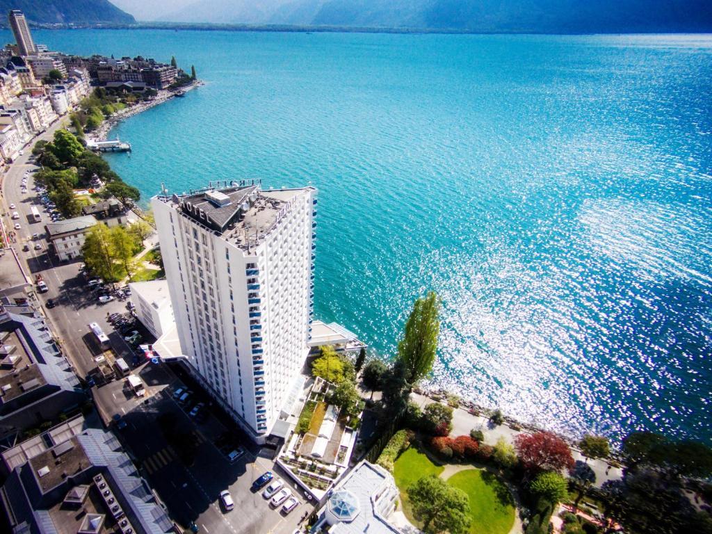 Eurotel Montreux a vista de pájaro