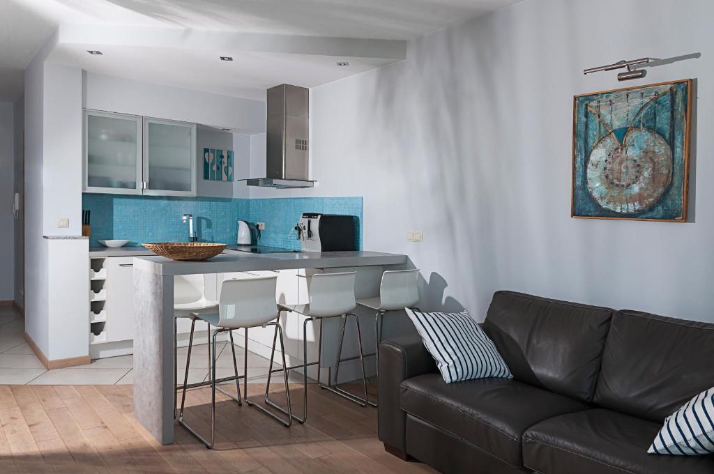Kuchnia lub aneks kuchenny w obiekcie Apartament Mistral