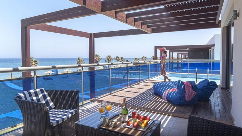 The swimming pool at or near All Senses Nautica Blue Exclusive Resort & Spa - All Inclusive