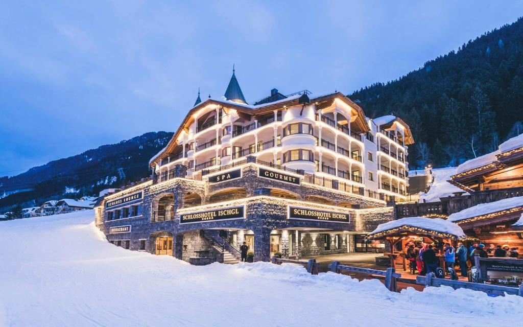 Schlosshotel Ischgl im Winter