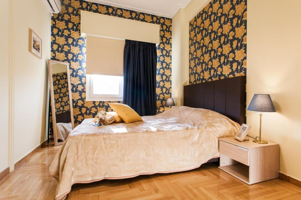 Private Central View rooms in apartment near to Acropolis Metro Station