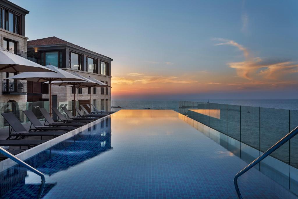 The swimming pool at or near The Setai Tel Aviv