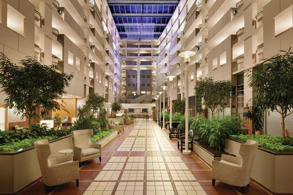 The Embassy Suites Atlanta at Centennial Olympic Park.