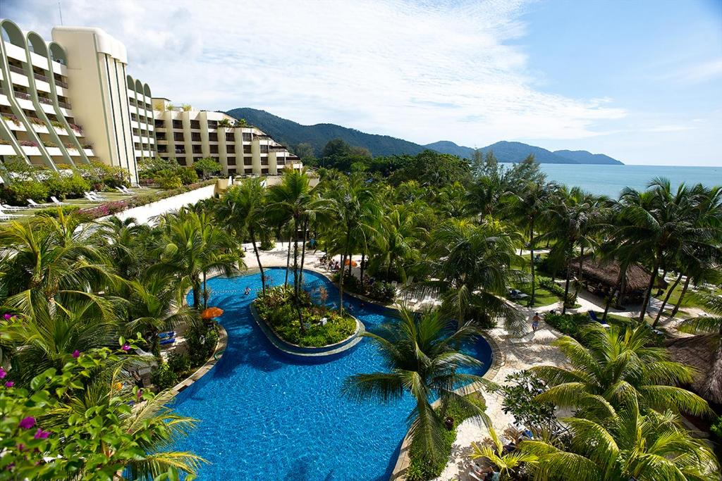 A view of the pool at PARKROYAL Penang Resort or nearby
