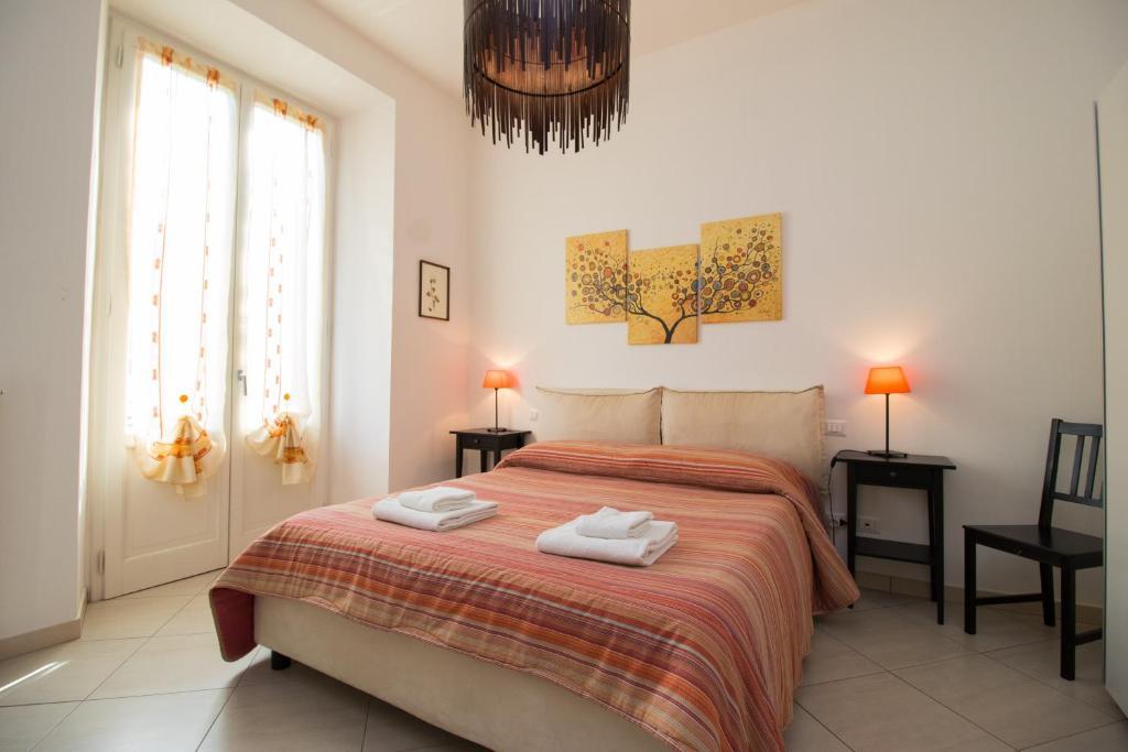 Cama o camas de una habitación en Bronzino 53