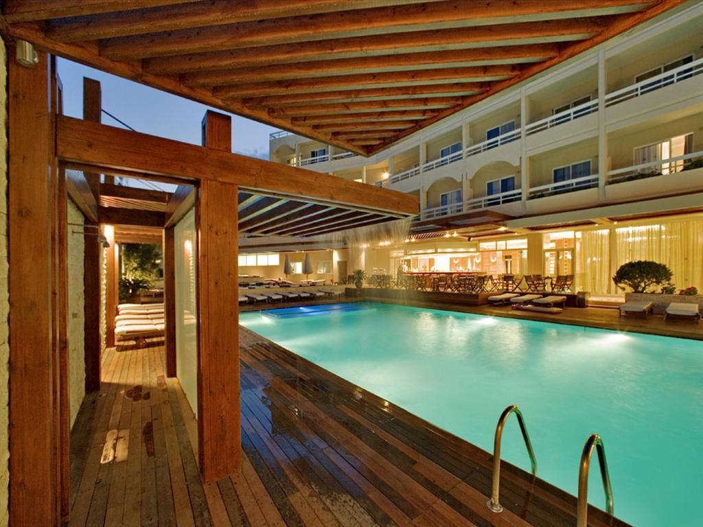 The swimming pool at or near Athineon Hotel