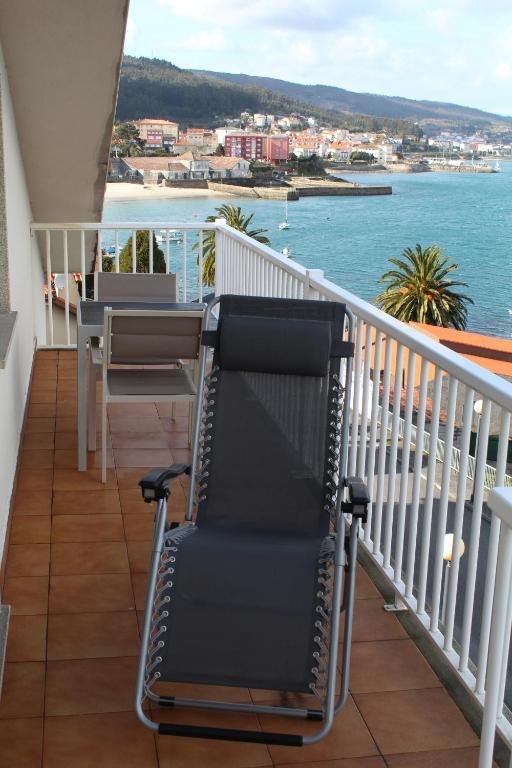 Un balcón o terraza de Apartamento Praia de Quenxe