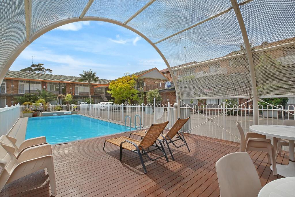 The swimming pool at or near Ultimate Apartments Bondi Beach