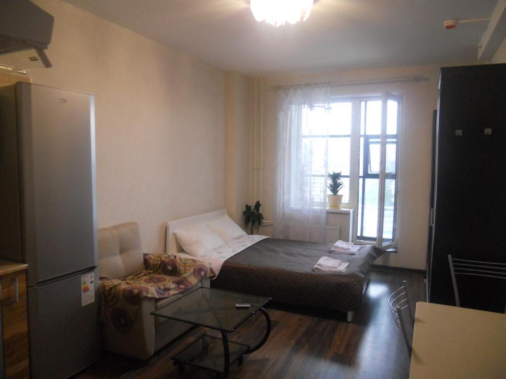 Гостиная зона в Studio on Pulkosvkoe 14G