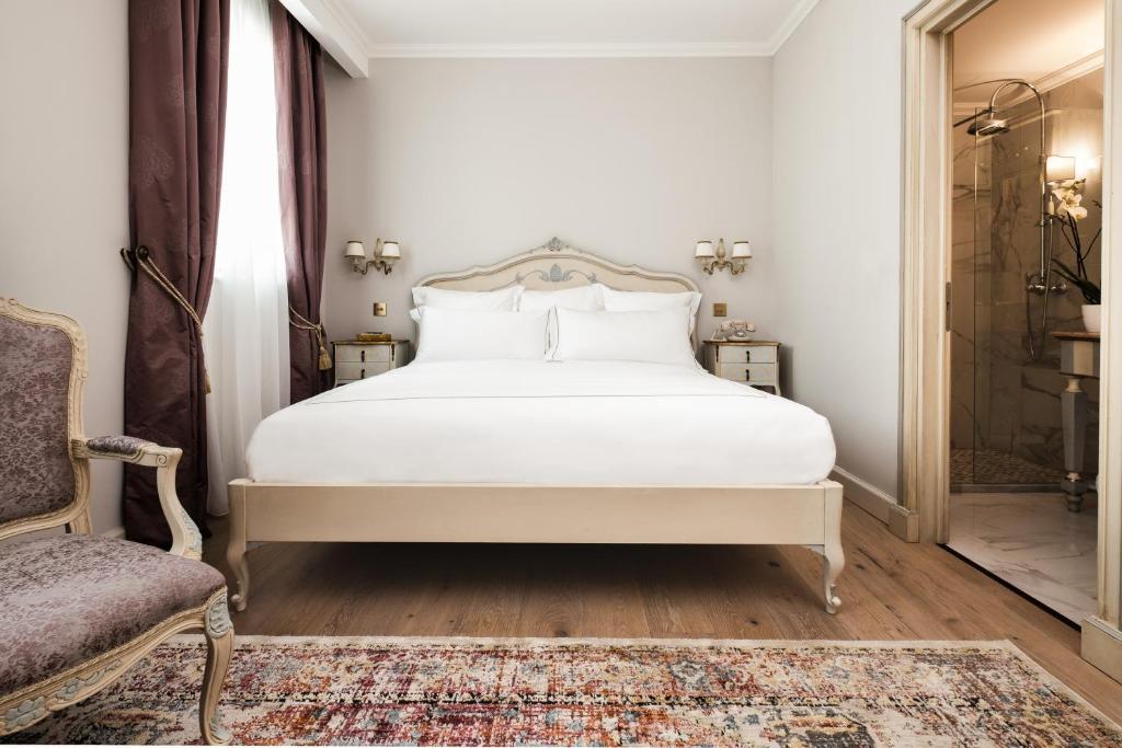 Un ou plusieurs lits dans un hébergement de l'établissement Domus Zamittello