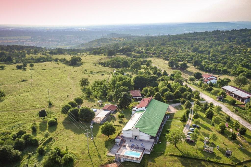 "A bird's-eye view of bio-agriturismo Parco Rurale ""Alture di Polazzo"""
