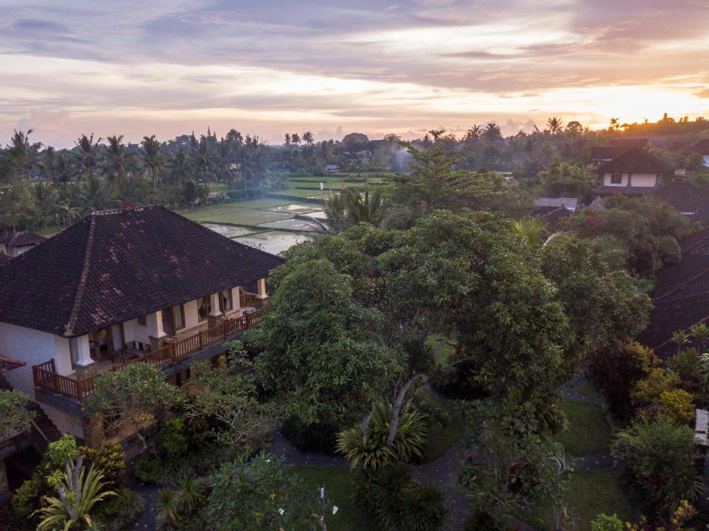 Vista aerea di Sri Ratih Cottages