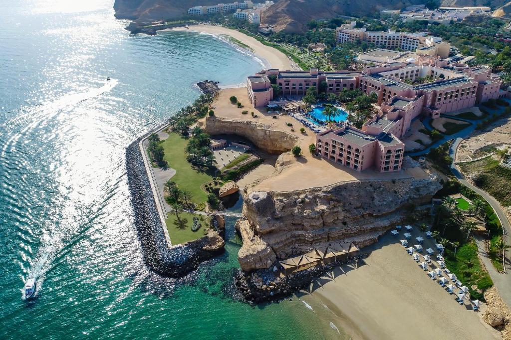 A bird's-eye view of Shangri-La Al Husn, Muscat