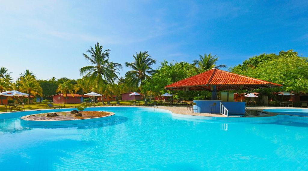 The swimming pool at or close to Anga Hotel