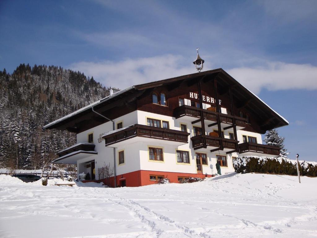 Huberhof зимой