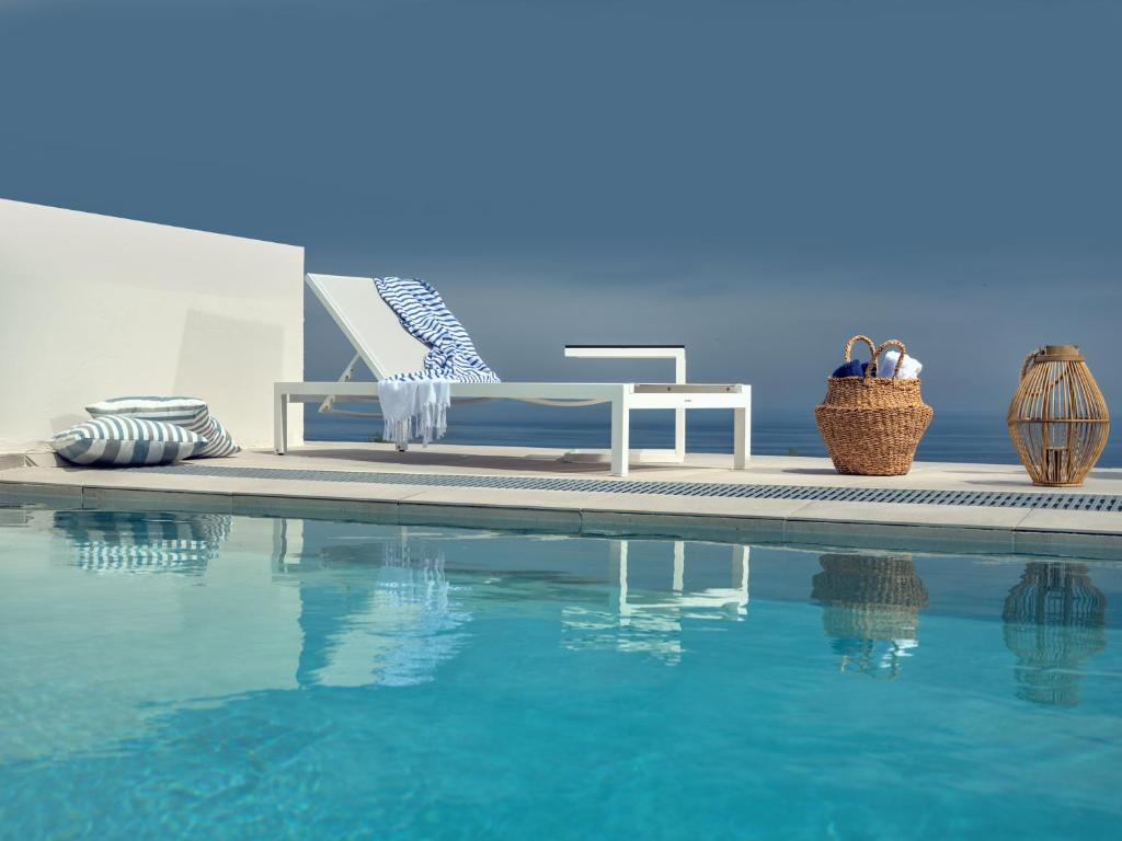 The swimming pool at or near Hotel St.John Suites Adults Only