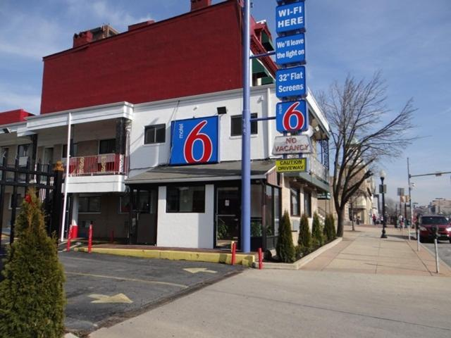 The Motel 6 Baltimore Downtown.
