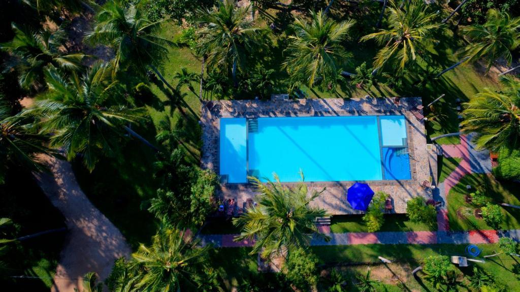 Vue sur la piscine de l'établissement Riviera Resort ou sur une piscine à proximité