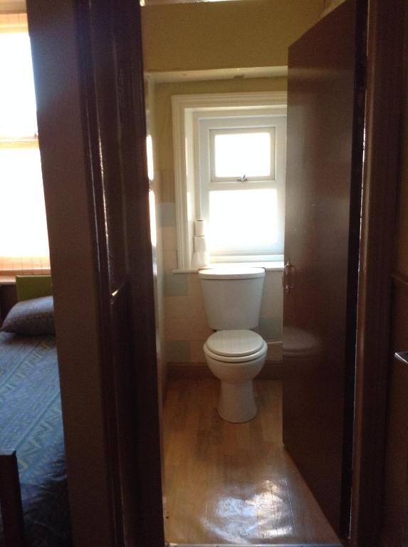 A bathroom at Victoria Hotel Blackpool