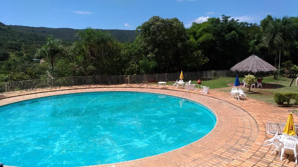 The swimming pool at or near Hotel Vila Boa