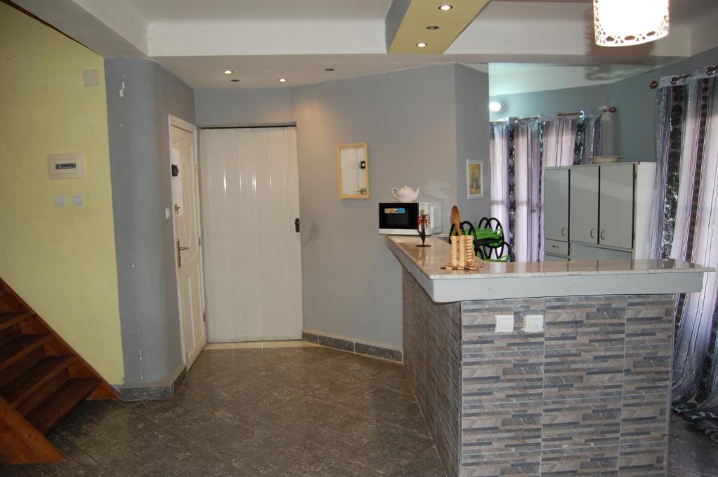 A kitchen or kitchenette at Bilton