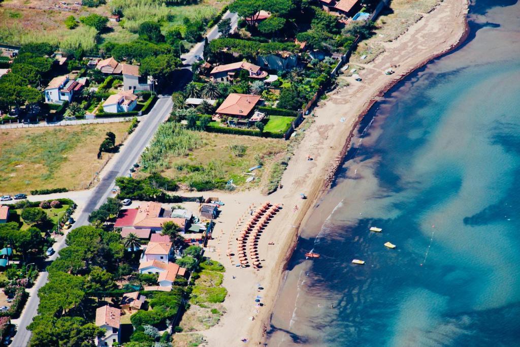 Vista aerea di Hotel Villa Smeraldo