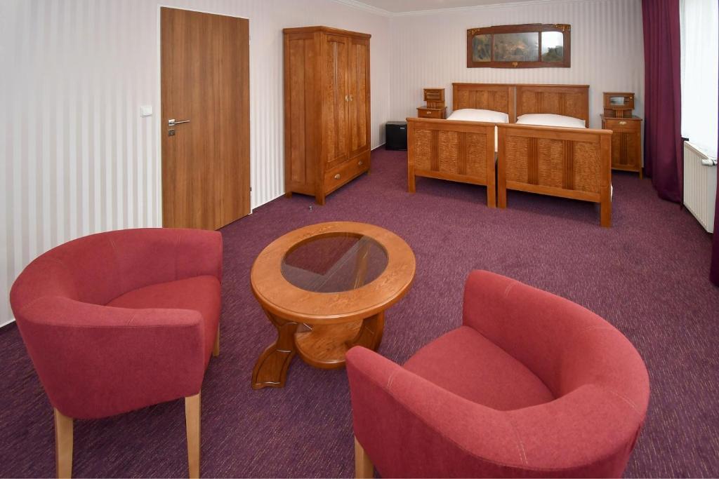 Posezení v ubytování Hotel Sonata