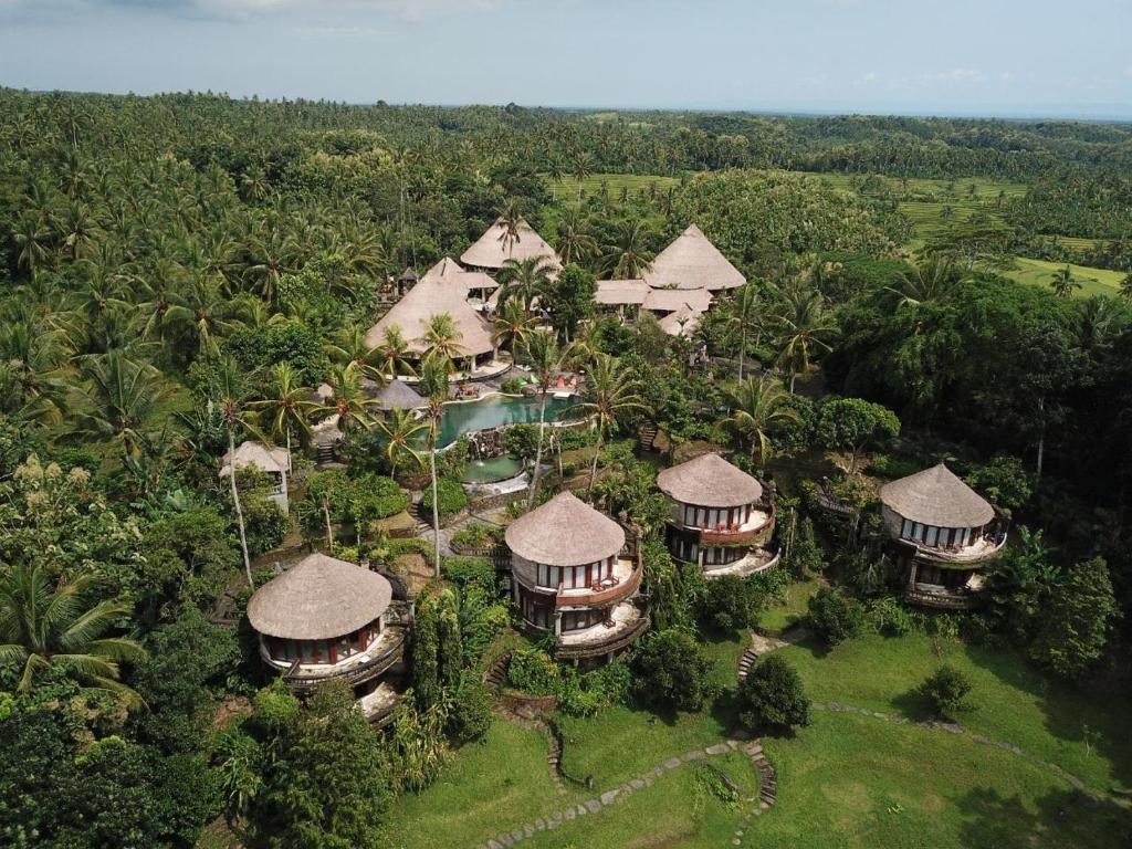 A bird's-eye view of Taman Wana Resort