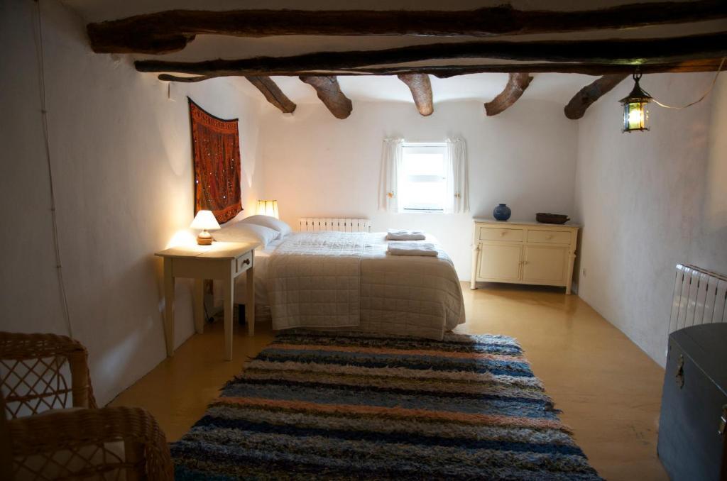 Cama o camas de una habitación en Casa Josefa