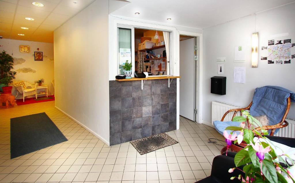 Vstupní hala nebo recepce v ubytování Rut & Ragnars Vandrarhem