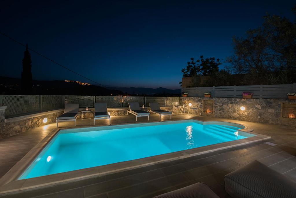 The swimming pool at or near Kanathos Pigi