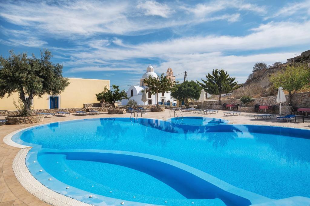 Πισίνα στο ή κοντά στο Ξενοδοχείο Ανατολή