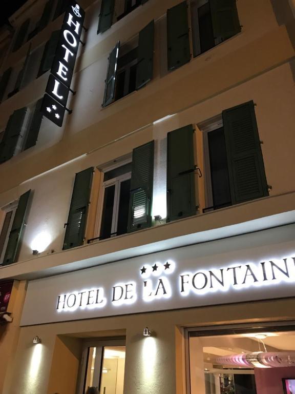 Hôtel De La Fontaine - Laterooms